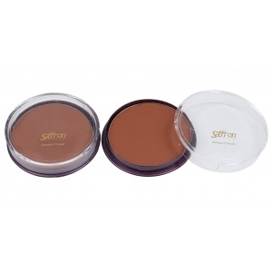 Saffron Compact Powder C4 Hot Fudge