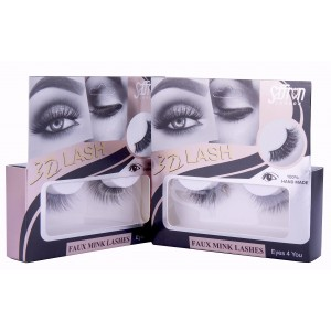 Saffron 3D Faux Mink Eyelashes EYES 4 YOU