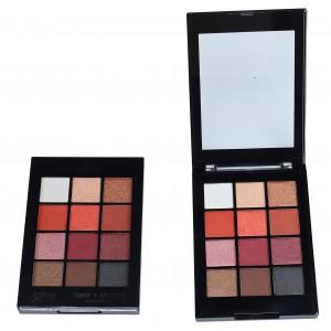 Saffron Matte & Metallic Eyeshadow Shade 02
