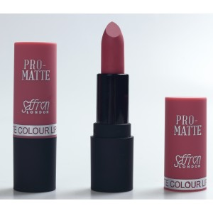 Saffron Pro-Matte Lipstick  15 Deep Pink