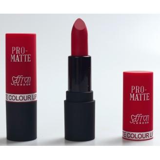 Saffron Pro-Matte Lipstick  18 Diamond Red