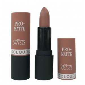 Saffron Pro-Matte Lipstick  03 Matte Natural