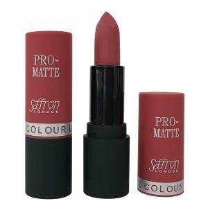 Saffron Pro-Matte Lipstick  05 Matte Diamond Red