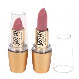 Saffron Nude Colour Lipstick  Matte Pink Babe 112