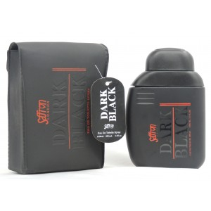 Dark Black   Men's Eau de Toilette 100ml in Leather Pouch