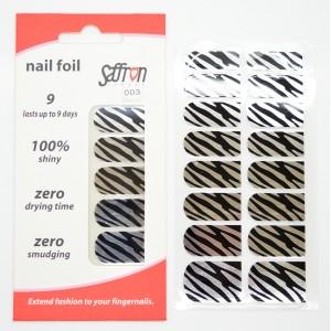 Saffron Shiny Nail Foils  003