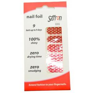 Saffron Shiny Nail Foils  006