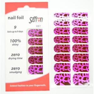 Saffron Shiny Nail Foils  007