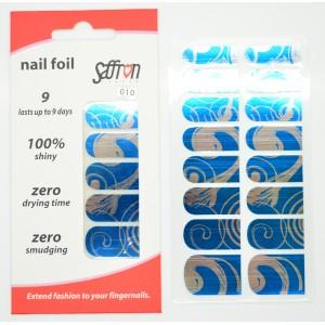 Saffron Shiny Nail Foils  010