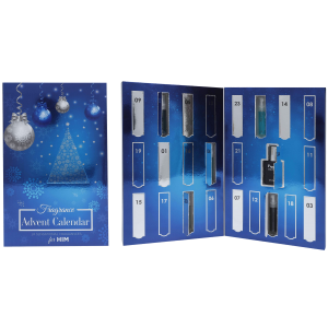 FRAGRANCE CHRISTMAS ADVENT CALENDAR FOR HIM by Saffron LONDON