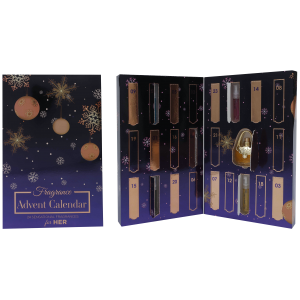 FRAGRANCE CHRISTMAS ADVENT CALENDAR FOR HER by Saffron LONDON