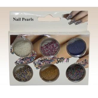Saffron Loose Caviar Pearls 1