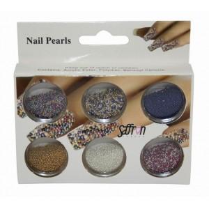 Saffron Loose Caviar Pearls 3