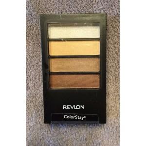 Revlon Colorstay 12 Hours Quad Eye Shadow  12 Priceless Metals