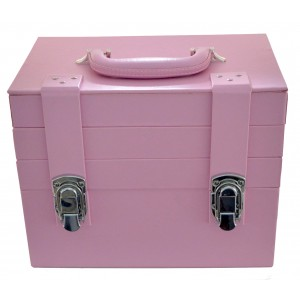 Essential Organizer Makeup Train Case  Pink MC1000