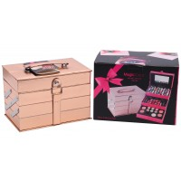 Magic Color All in One Makeup Kit Gift Set (Rose Gold) MC1205