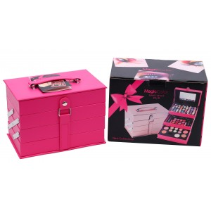 Magic Color All in One Makeup Kit Gift Set (Rose Pink) MC1205