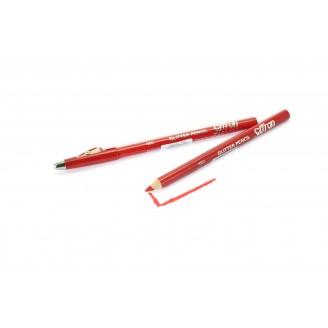 Saffron Glitter Makeup Pencil  213 Red
