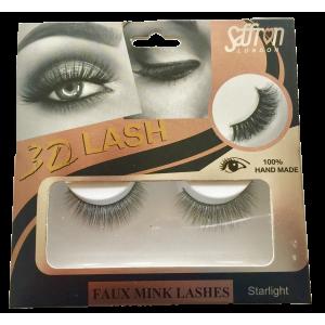 Saffron 3D Faux Mink Eyelashes STARLIGHT