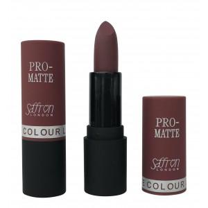 Saffron Pro-Matte Lipstick  11 Matte Whipped Caviar