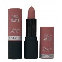 Saffron Pro-Matte Lipstick  01 Matte Tea Rose