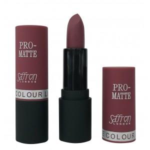 Saffron Pro-Matte Lipstick  02 Matte Nude