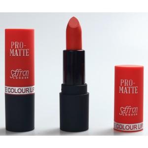 Saffron Pro-Matte Lipstick  13 Coral Red