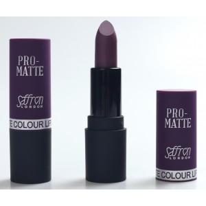 Saffron Pro-Matte Lipstick  14 Purple Passion