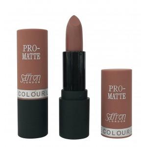Saffron Pro-Matte Lipstick  07 Matte Brown Sugar