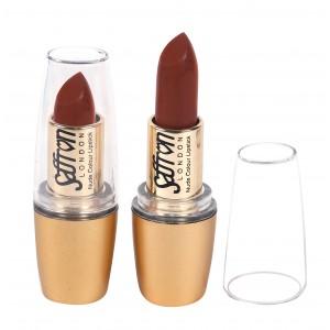 Saffron Nude Colour Lipstick  Matte Red Velvet 107