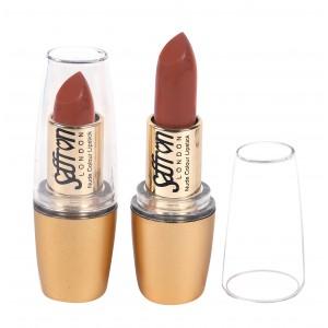 Saffron Nude Colour Lipstick  Matte Coral Beach 109