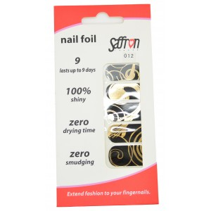 Saffron Shiny Nail Foils  012