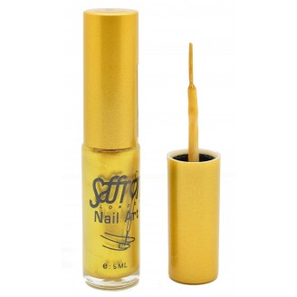 Saffron Nail Polish   Nail Art Gold 9