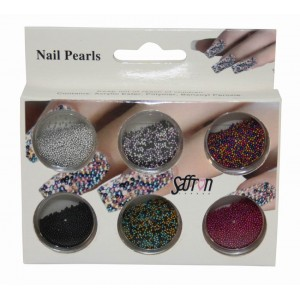 Saffron Loose Caviar Pearls 2