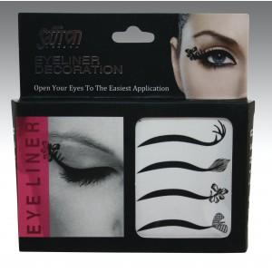 Saffron Decoration Eye Liner Strips Plain (A)