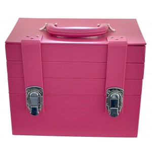 Essential Organizer Makeup Train Case  Magenta MC1000
